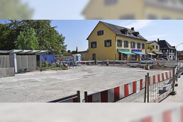 Sanierung der Ortsmitte kommt voran