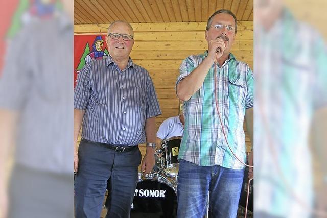 Helmut Fricker ist Ehrenmitglied des TuS