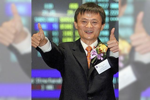 Chinesischer Onlinehändler Alibaba geht an die Börse