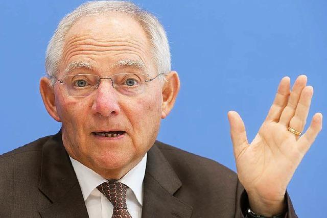 Bundeshaushalt 2015: Hoffen auf die schwarze Null