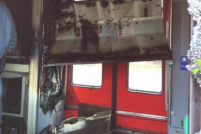 Feuer in der S-Bahn