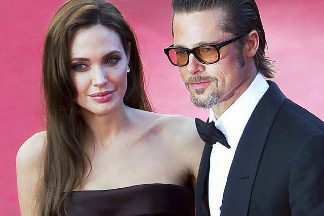 Angelina Jolie und Brad Pitt heiraten mit Rothaus-Bier