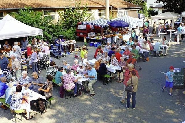Wochenmarktfest in Hohberg