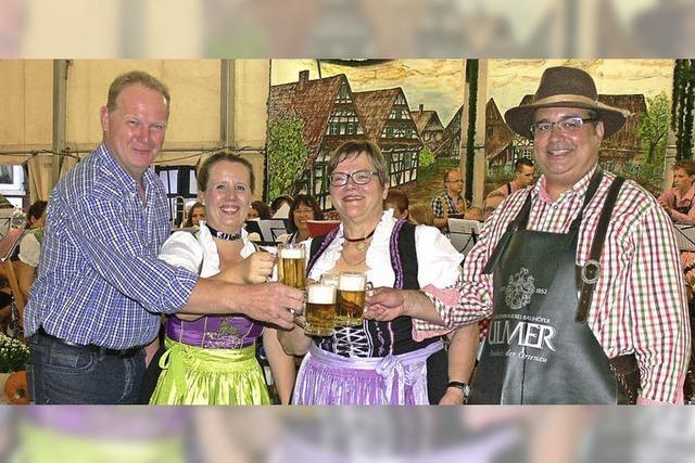 Bayerischer Auftakt des Altenheimer Dorffestes