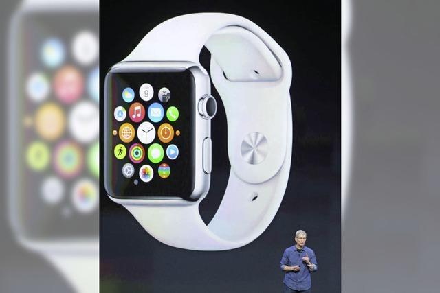 Apple wird zum Uhrenproduzenten