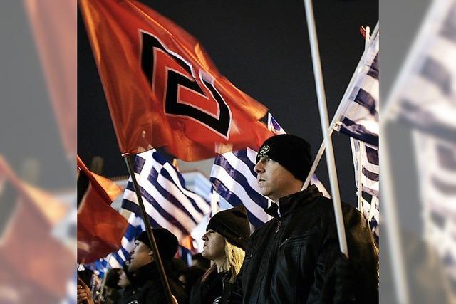Griechischer Polizeichef zeigt Hitlergruß