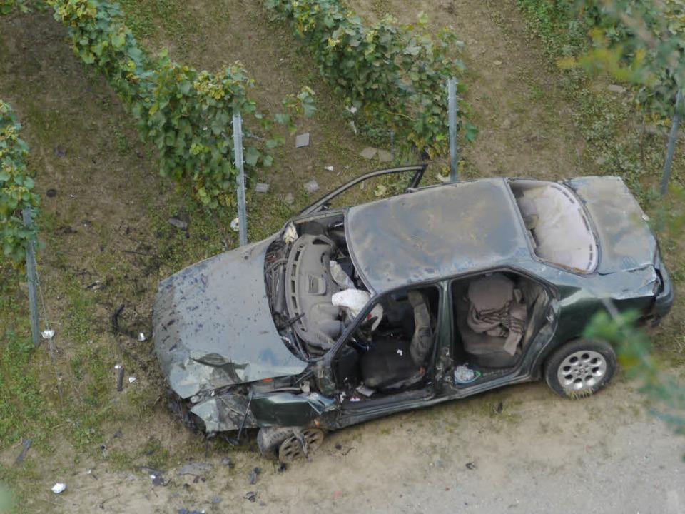 Ein familiärer Konflikt im Kaiserstuhl...glückte nach der Tat in den Weinreben.  | Foto: kamera24.tv