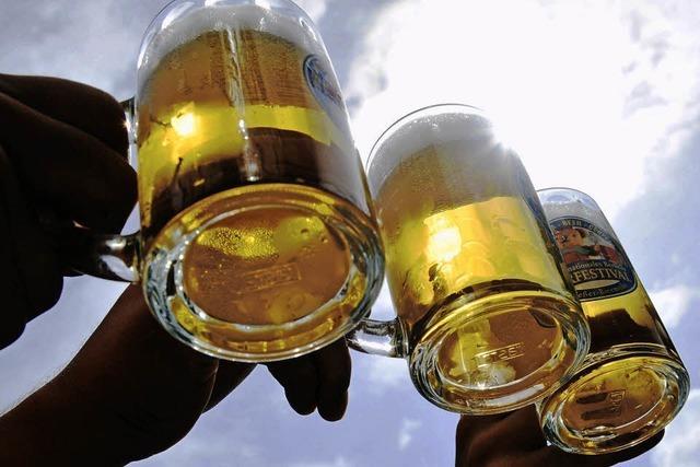 Bierfestival in Mulhouse