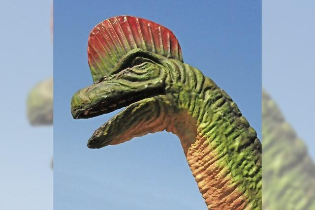 Badenmesse: Dino-Alarm in Freiburg