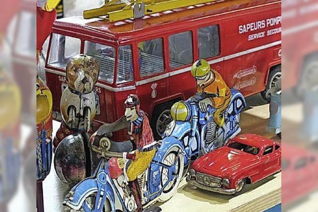 Spielzeugbörse in Mulhouse: Für das Kind im Mann