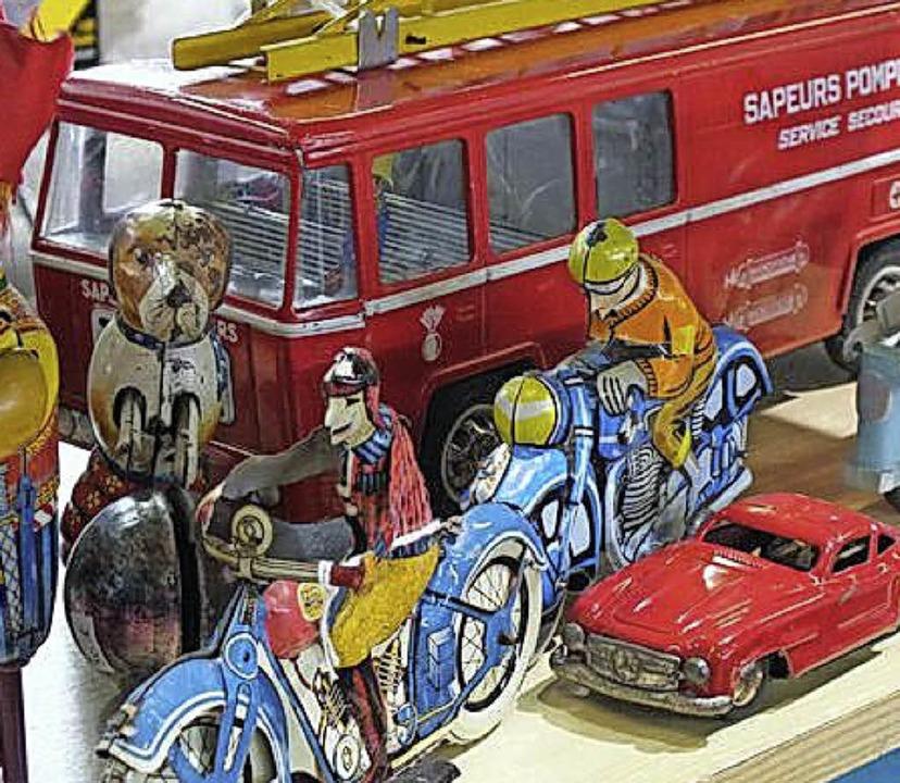 Immer wieder gerne: altes Kinderspielzeug   | Foto: Veranstalter