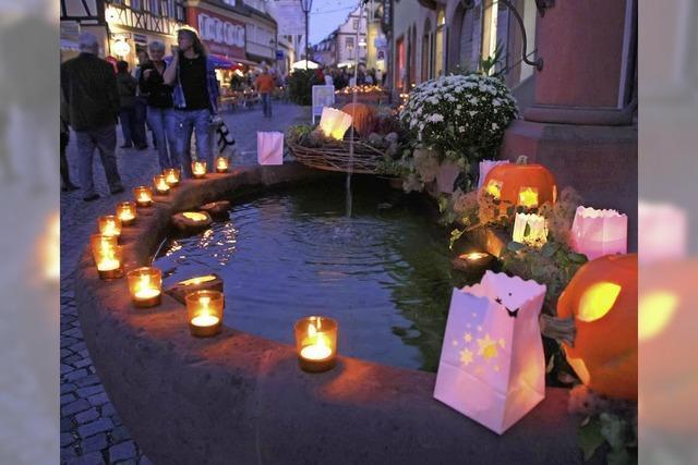 Lichternacht in Endingen: Essen, flanieren, shoppen