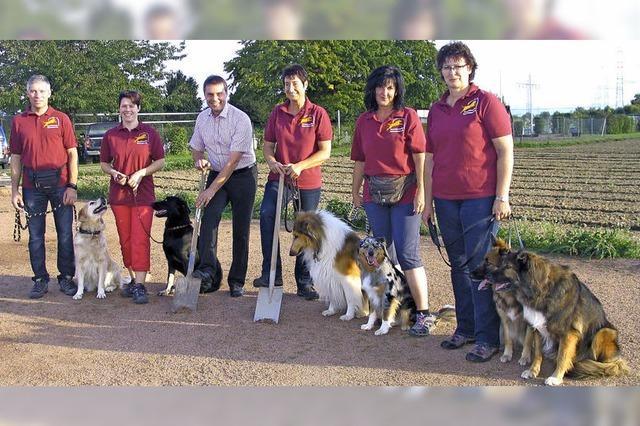 Hundesportplatz in Eichstetten kommt