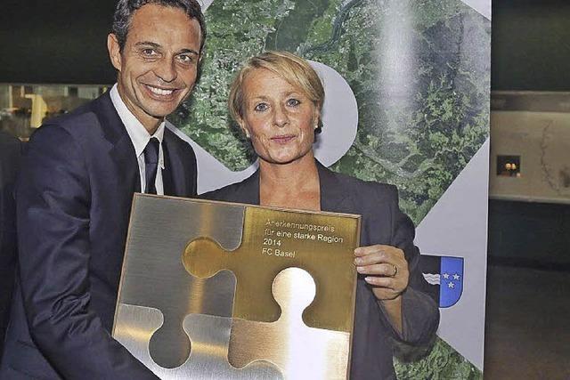 Auszeichnung für FC Basel