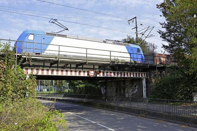 Rheintalbrücke über Platanenallee ist Sanierungsfall