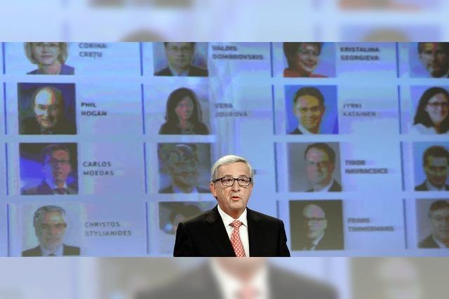 Juncker setzt neue Schwerpunkte