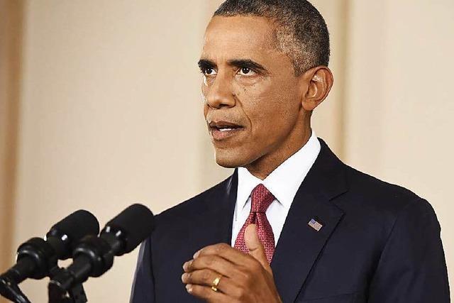 Obama kündigt Ausweitung der Luftangriffe gegen IS an
