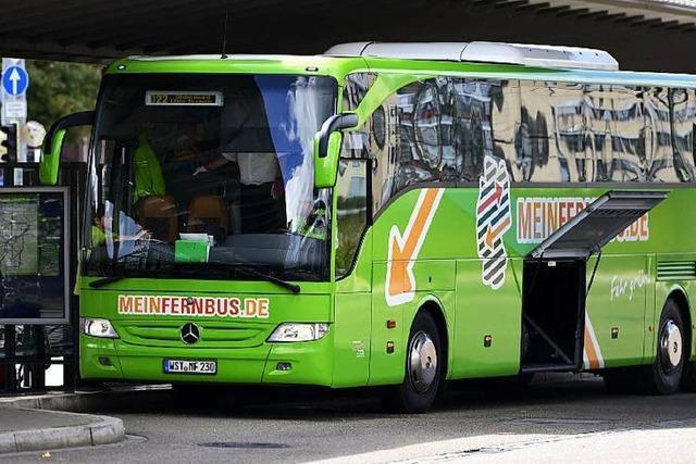 Fernbus-Verkehr sprengt Kapazitäten des Busbahnhofs Freiburg