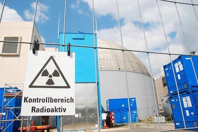 Das Kernkraftwerk Obrigheim wird zerlegt