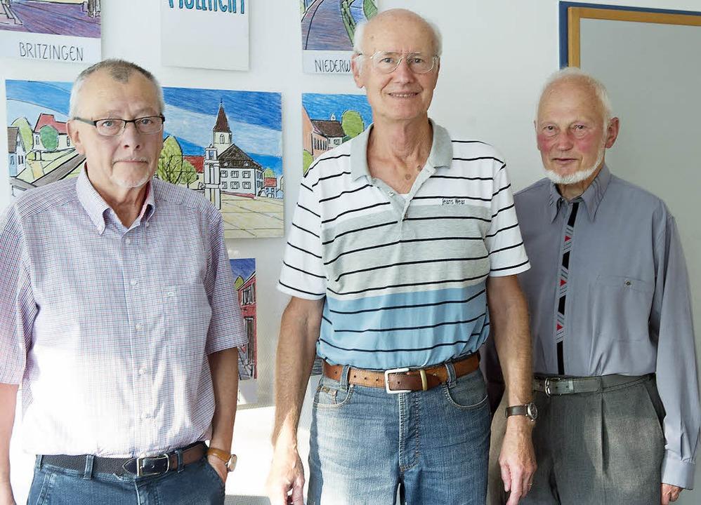 Freuen sich auf neue Mitstreiter: Alfr...enke und Gerhard Hanson  (von links).     Foto: Volker Münch