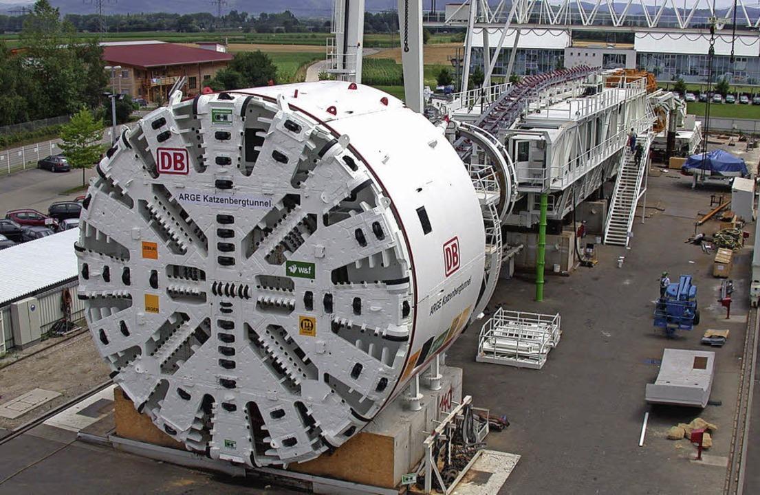 Tunnelvortriebsmaschinen von Herrenkne...mmer schwerer, Fachkräfte zu finden.    | Foto: DB Projektbau