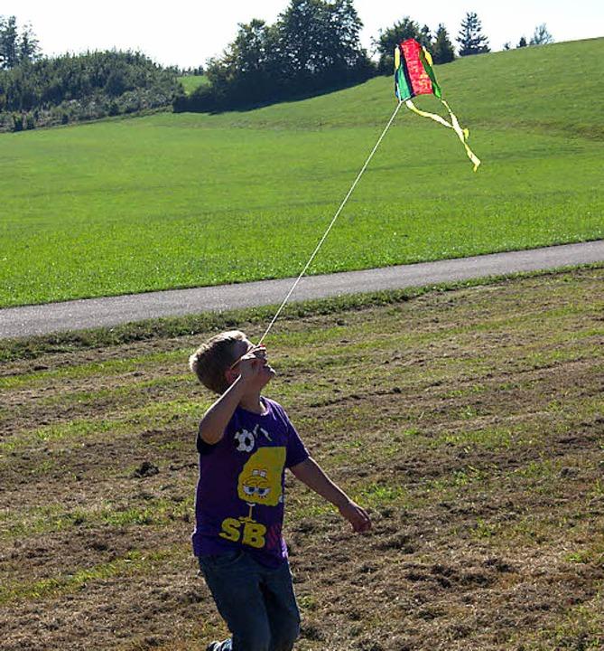 Klein aber fein: Nicht nur riesige Kre...ofis werden beim Drachenfest fliegen.   | Foto: Hilpert