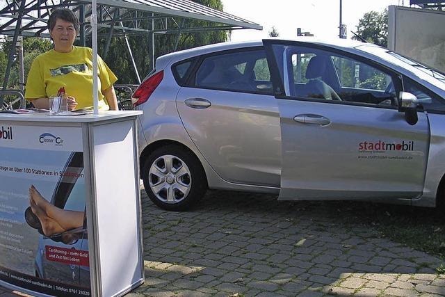 Ein Auto zum Teilen in Eichstetten