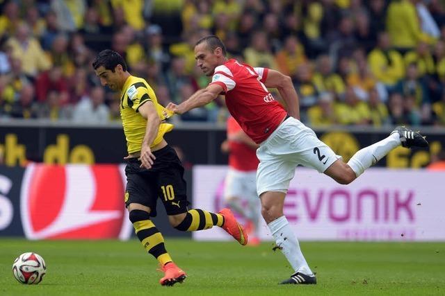 Borussia Dortmund bezwingt den SC Freiburg 3:1 (2:0)