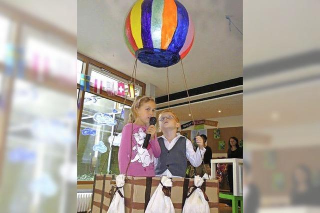 Eine Reise mit dem Ballon
