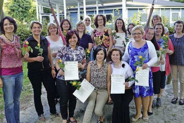 Neue Tagesmütter und neuer Qualifizierungskurs
