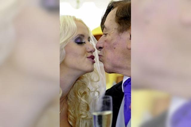 """Richard """"Mörtel"""" Lugner heiratet Cathy """"Spatzi"""" Schmitz / Keith Richards will Image von Großeltern aufmöbeln"""