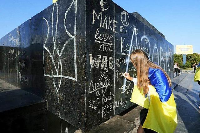 Ostukraine: Kein Krieg, kein Frieden