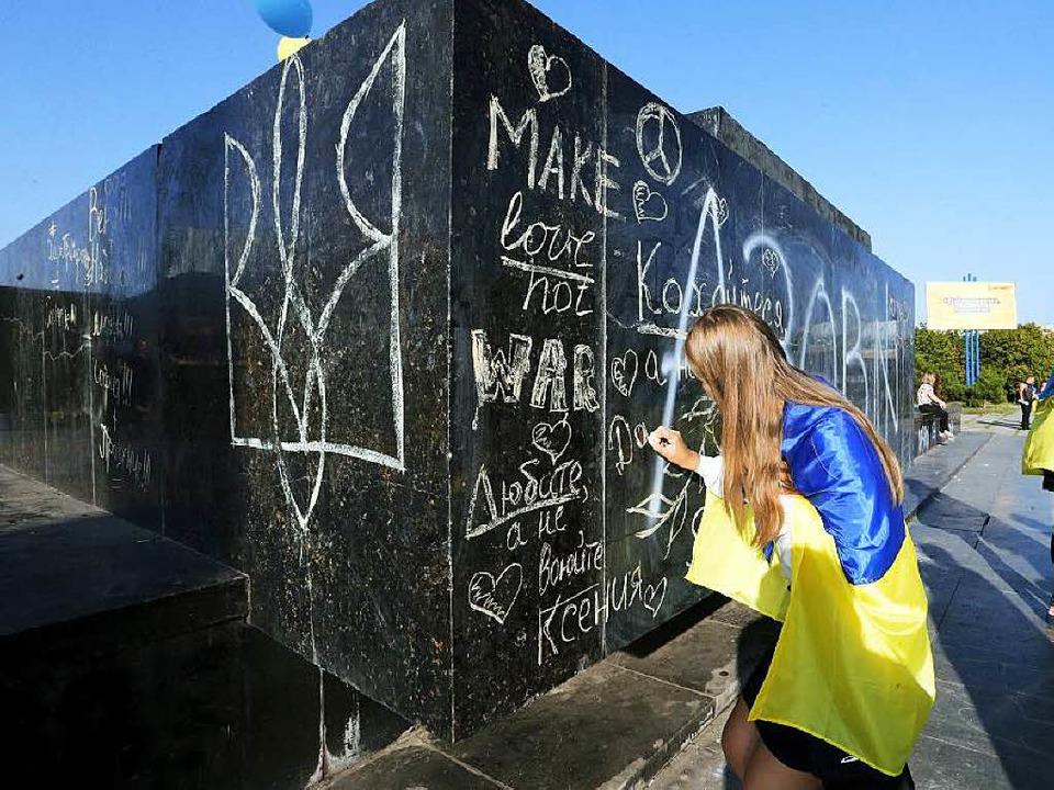 Krise in der Ukraine  | Foto: dpa