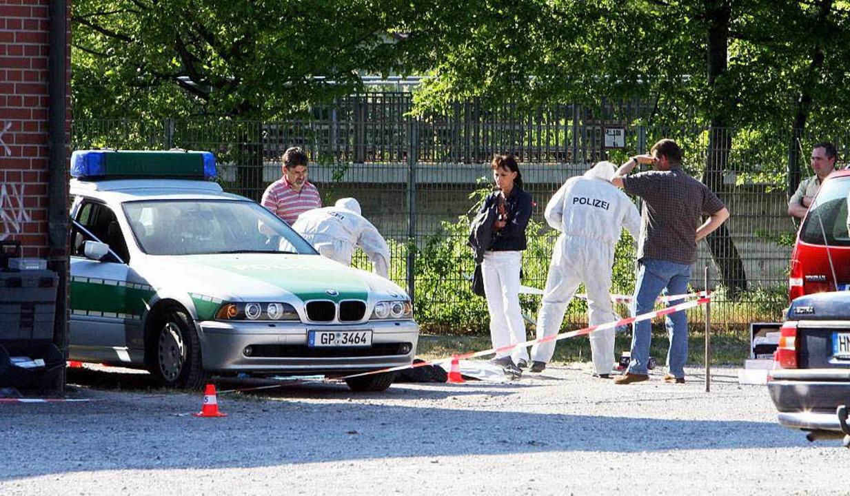 Wusste der Zeuge etwas über den  Polizistenmord vom April 2007?  | Foto: dpa Deutsche Presse-Agentur