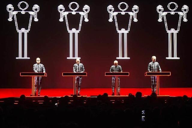 Die Band Kraftwerk ist in Karlsruhe aufgetreten