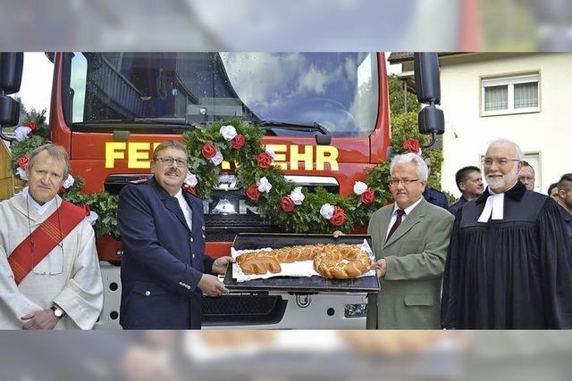 Festtag für die Feuerwehr