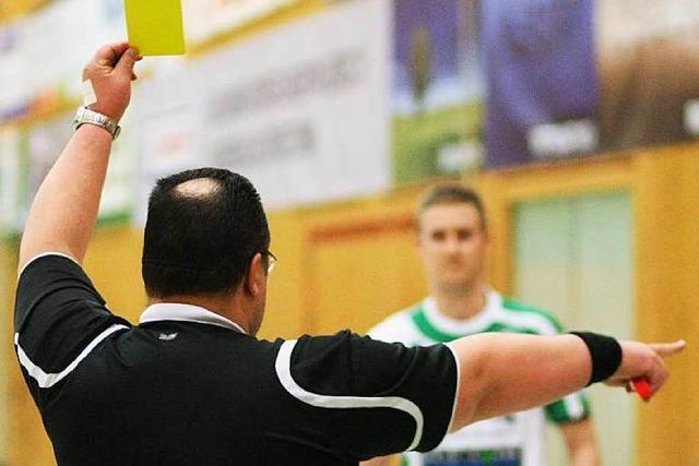 Handball-Schiedsrichter und die kribbelige letzte Minute