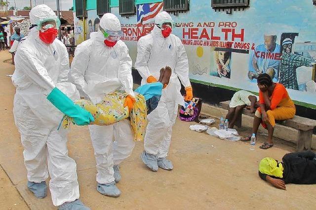 Einsatz in Liberia: Leichen bergen, Leben schützen