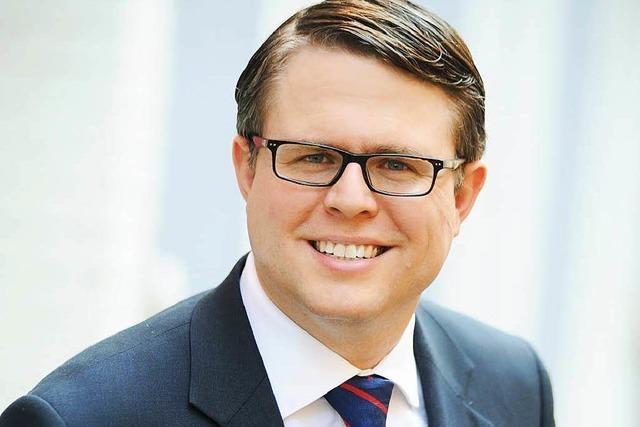 Tobias Benz tritt bei Bürgermeisterwahl in Grenzach-Wyhlen an