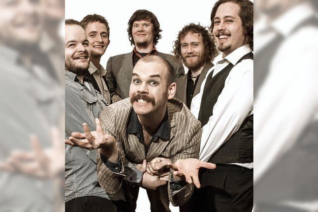 Louis Barabbas & The Bedlam Six spielen in Freiburg und Base