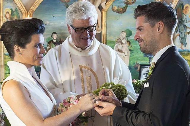Pater aus dem Dreisamtal spielt Pfarrer bei den