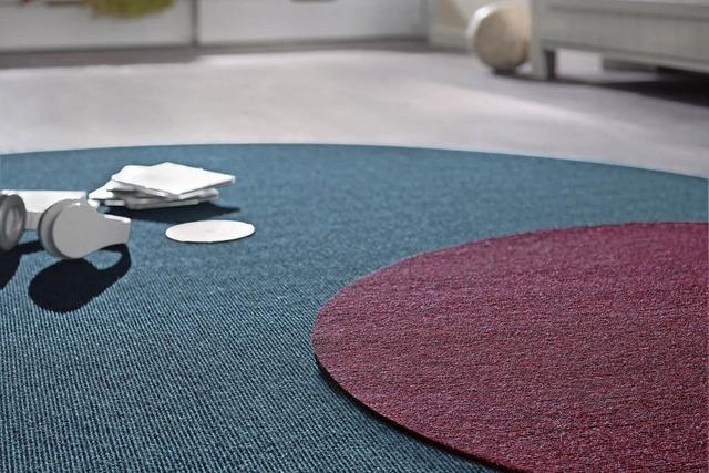 Der Teppich als Spielplatz