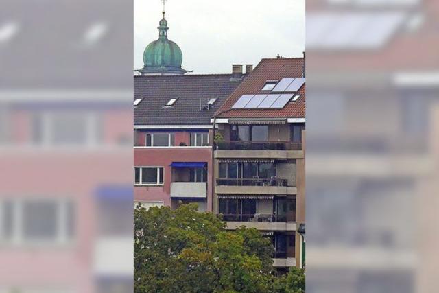 Auf dem Basler Wohnungsmarkt wird es langsam knapp