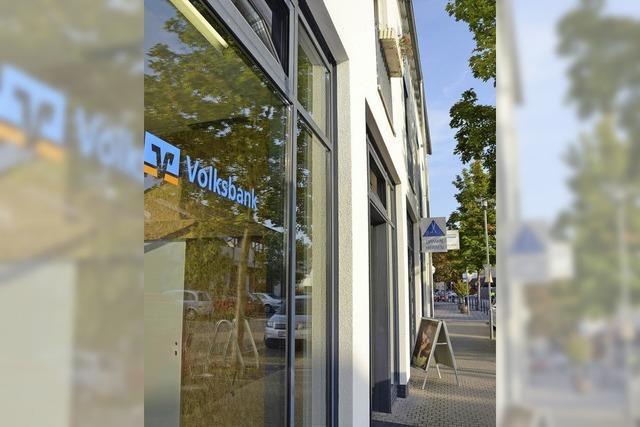 Volksbank weicht in den früheren Schlecker aus