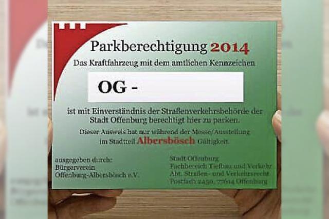 Parkchaos zur Oberrheinmesse verhindern