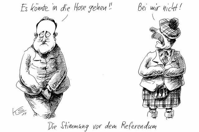Die Stimmung vor dem Referendum