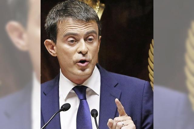 Valls übersteht Vertrauensfrage