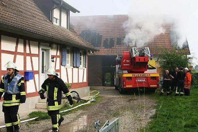 Feuer in Neuried: Experte geht von Brandstiftung aus