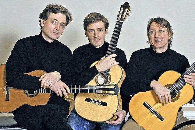 Das Münchner Gitarrentrio kommt nach Schopfheim