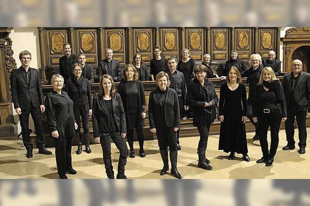 A-cappella-Musik im Fridolinsmünster Bad Säckingen